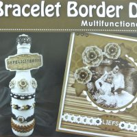 Voorbeeldboekje voor Nellie's Bracelet border dies
