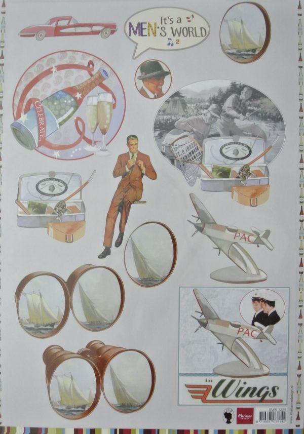marianne design, it's a men's world, nr. 2