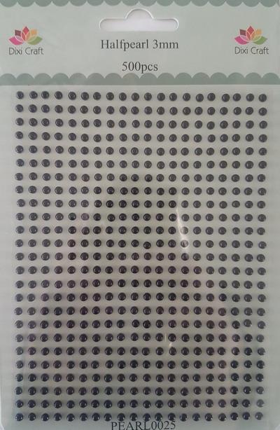 Plakparels zwart van Dixi crafts