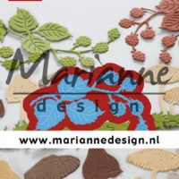 Marianne Design, Creatables stencil, Tiny's blackberries snijmal