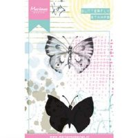 marianne design tiny's stamps butterfly