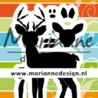 deer by Marleen van marianne design