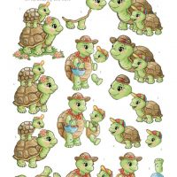 Turtle Mommy van yvonne creations
