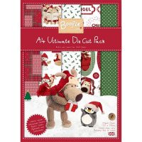 Docrafts, A4 Paper Pack (48pk), Boofle die cut pack