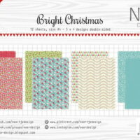 Joy! Crafts, papierset, Bright Christmas