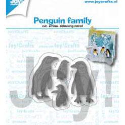 pinguïn familie van joy design winter 2019