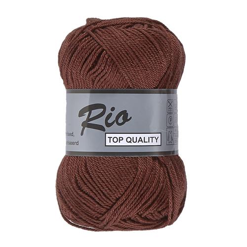 rio 114 chocolade bruin katoen garen