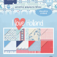 Marianne Design, papierset, # Pretty DZ I love Holland