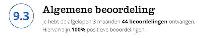 Bol.com beoordeling De Hobbyvlinder (Juli 2020)